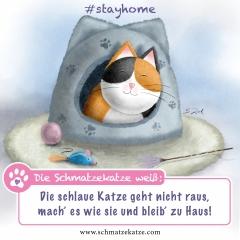 Schmatzekatze #stayhome